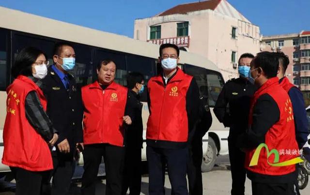 【共创文明城区】刘永胜带队督导省级文明城区创建工作
